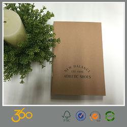 wholesale school notebook cover designs, kraft paper blank notebook