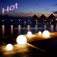 flash led ball light,waterproof swimming pool led light ball with remote control. outdoor or indoor decors