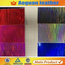 2016 hot selling fashion pvc material shiny fabric for shoes and bags made in china