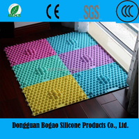 Magnetic eco-friendly silicone foot massager manufacture