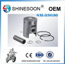 Top quality Alminum motorcycle piston & rings kit for DIO 50