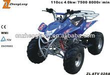 2015 new design diesel 4x4 atv quad