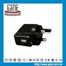 uk plug usb charger wall mounted adapter uk dc 5v usb power adapter