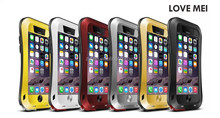 LOVE MEI Case for iPhone 6 6 Plus , Outdoor Waterproof Aluminum For Iphone 6 6plus Case