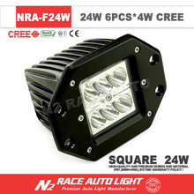 Automotive LED off road Vehicles jeep Flood/Spot working light 16w 24w