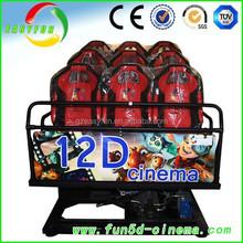 hot sale 5d cinema 5d theatre hydraulic, truck mobile 3d 4d 5d 6d 7d cinema 7d 9d