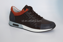 2015 new collection for man real leather casual shoes