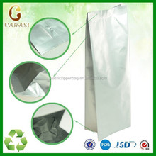 Highg quality side gusset coffee bag,chinese supplier aluminum laminated foil pouch,heat seal bags side gusset plastic bag