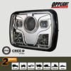 New arrival led headlights replacement, 5x7inch projeector headlight, seal beam led 5x7 rectangle headlight for JEEP