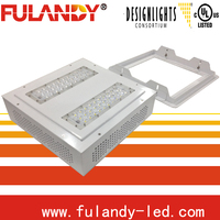 Explosion proof gas station LED canopy light 1.Meanwell power,cree led 2.PF:90% 3.Fully modularized sets with high bright