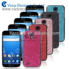 Mobile phone hot selling bling shiny PC case for samsung galaxy S4 I9500
