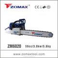 Zomax 60cc- essence scie à chaîne tronçonneuse zm6020 fabriqués en chine