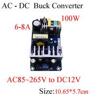 ac110v 115v 112v 220v c to dc12v dc converter 6A 7A 8A ac to dc voltage regultor/transformer/bare circuit board for adapter