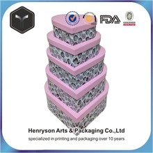 customized shape printing paper gift box for gift packaging