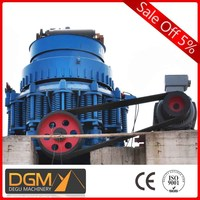 China energy saved gold and copper ore powder hydraulic crusher for sales