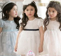 Hot Latest New 2015 Simple Design Girls Frock Baby Girls Dresses In Summer Pakistani