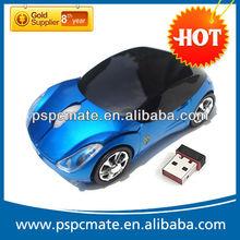 Racing Car Shape 2.4 G Wireless Optical Mouse
