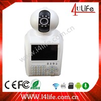 Video Call Phone Camera--- Full 720P 3.5 Inch LCD Cloud Wifi Network Alarm Ip camera