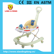 2015 New Enropean standrad Baby Walker with U style and music and light