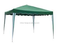 LG-HD4006 Yongkang LanGe metal and PE outdoor canopy tent 3*3m folding gazebo