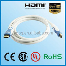 New premium cable hdmi male to hdmi male premium 3 meter Support 1080p 3D Ethernet