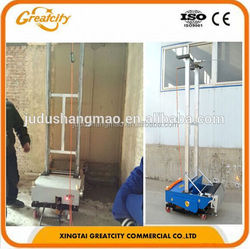 Automatic Wall Plastering Equipment With Best Plastering Costs