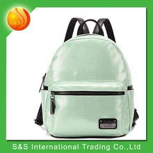 Hot new products for 2015 clear korean style backpack for school