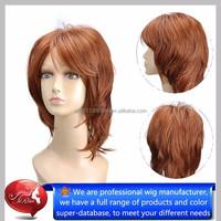 Tangle free no shed hair quality kanekalon synthetic hair wigs, korean hair products
