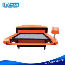 Large size heat press machine automatic double stations pneumatic sublimation printer