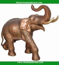 Alibaba Uae bronze building yard put elephant statue
