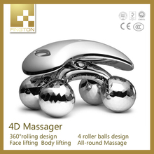 2015 new products Home Use massage for face 4D Face Roller