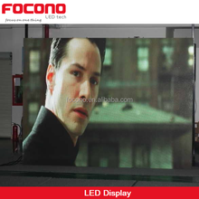professional factory price new design focono P10 indoor LED billboard