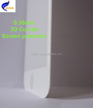 3D curved glass film, tempered glass film screen protector, 9h screen protector for salefor iphone 6/6plus
