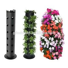 Flor de la torre es un independiente vertical sembradora, tomar su jardín de flores a nuevas alturas y ahorrar espacio