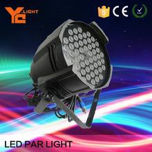 New product 54 pieces 3w led par 64 lighting with best selling