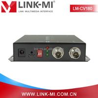 LM-CV180 With DIP Switch SDI signal BNC port to HDMI CVBS VGA Media Converter