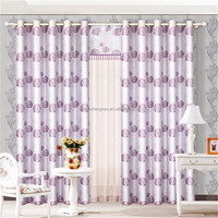 China custom luxury double swag shower curtain