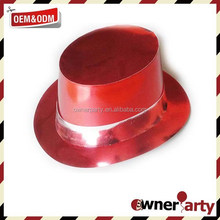 Red Metal Color Party Hat Paper
