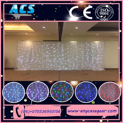 2015 ACS LED hotel window curtain for party