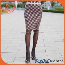 Summer Style Pencil Skirt High Waisted Women's Skirt OL Office Formal Pencil Skirt Knee-Length Skirt Wholesale Hot Sale