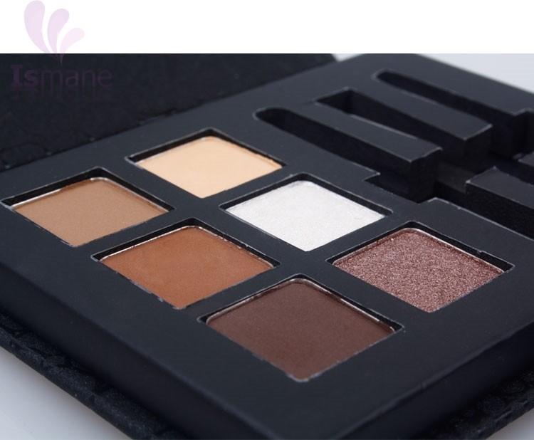 Marque Cosmétiques 6 Couleur Mat Naturel Ombre À Paupières Palette Nu Fard À Paupières Maquillage avec Miroir