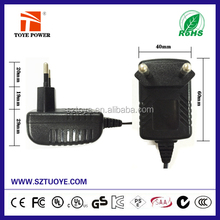 France Best selling prodcuts ac/dc adapter 15v 450ma 500ma 550ma power adapter /switch power supply for electronical wire
