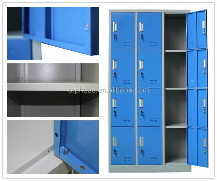 france quipement armoire vestiaire industrielle casier m tal 12 porte vestiaire casier pour gym. Black Bedroom Furniture Sets. Home Design Ideas