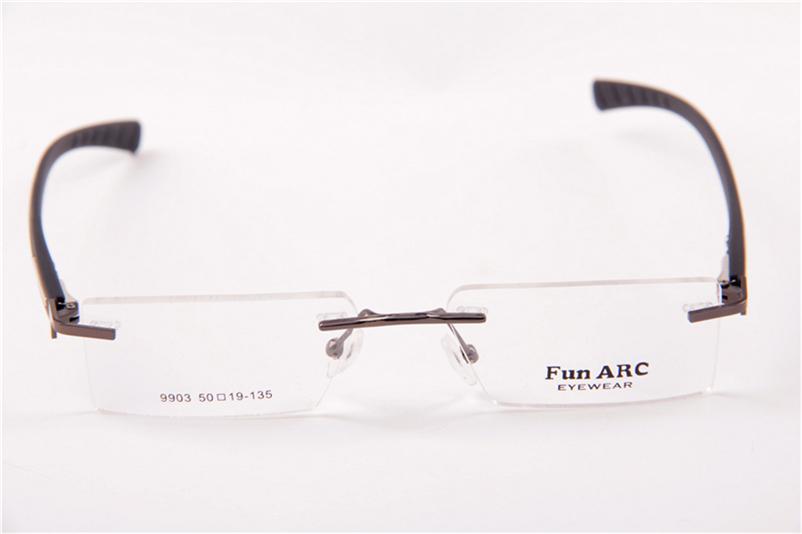 Rimless Tr90 Eyeglasses Frame - Buy Rimless Eyeglass Frame ...