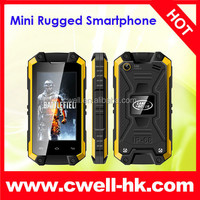 Best price for MINI J5 IP54 Waterproof Smartphone Rugged Cell Phone Unlocked