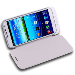 Rechargeable 4200mAh Power Bank With Flip Cover Case For Samsung Galaxy Note2 N7100
