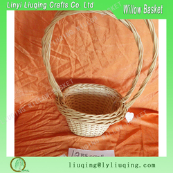 storage basket rattan basket wicker storage basket containing the food , clothing