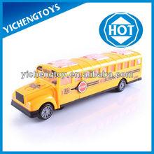 Vamos a ir a la escuela! Los niños de juguete del coche de color amarillo de autobuses escolares de juguete con luz y música