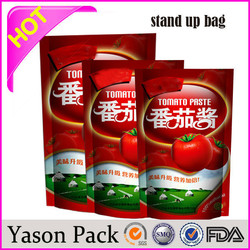 Yasonpack custom food pouch liquid soap pouch brand name design pouch