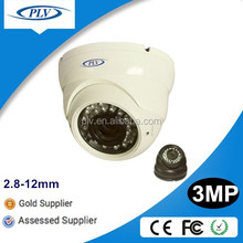 new products H 264 digital p2p ip 2.8-12mm varifocal home web security dome ip network cctv camera